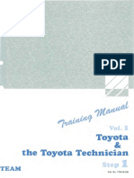 Step 1 Vol 1 the Toyota Technician