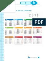 El año y el calendario