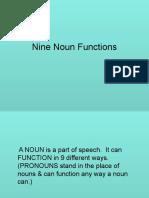 Noun Functions