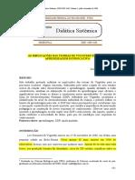 Artigo - As Implicações Das Teorias de Vygotsky Para Uma Aprendizagem Significativa