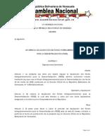 Ley Especial de Liquidación del Fondo Intergubernamental para la Descentralización