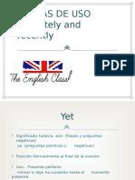 Reglas de Uso Ingles