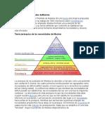 Pirámide de Necesidades DeMaslow Michii