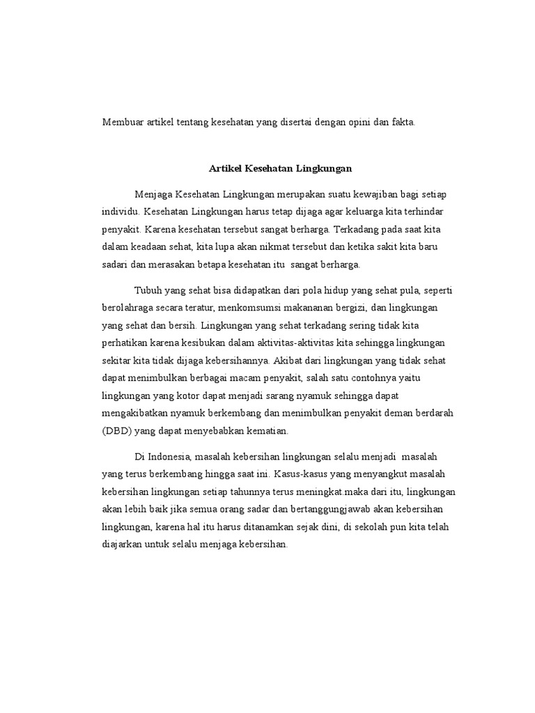 Contoh Artikel September 2004