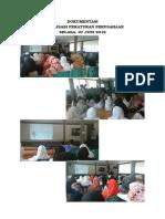 Dokumentasi Sosialisasi Peraturan Perusahaan