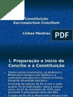 Sacrosanctum Concilium Linhas Mestras