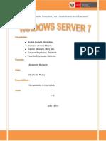 Monografia de Windows Server 7