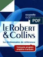 Dictionnaire Robert Collins