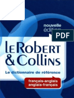 Dictionnaire Robert Collins