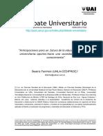 Fainholc_2014_Futuro de La E Univ