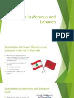 hashish in morocco and lebanon
