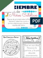 Diciembre Boletin de Ninos Catolicos 2016