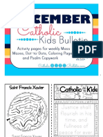 December 2016 Catholic Kids Bulletin