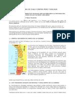 LA GUERRA DE CHILE CONTRA PERÚ Y BOLIVIA