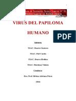 Trabajo Del Virus Del Papiloma Humano