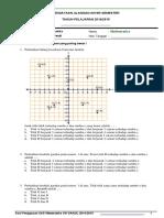 Soal UAS Matematika Kelas 8 Semester 1