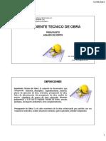 Clase 3 - Expediente Tecnico - Presupuesto