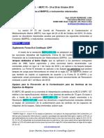 Enmiendas Al MARPOL Octubre 2016