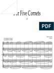 For Five Cornets [2016]