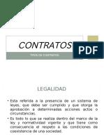 10 y 11 Contratos - Clase de Contratos