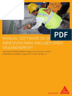 Manual Software Anclajes AnchorFix Web (Sika Perú)
