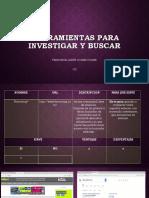 Herramientas Para Investigar y Buscar[1]