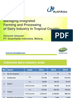 Darmanto Setyawan-managing Integrated Dairy Farming and Processing Industry in Tropical Country