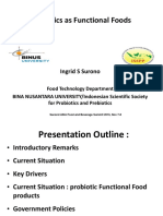 Ingrid s Surono-probiotics as Functional Foods