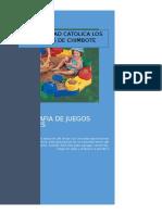 Monografia de Juego y Canciones
