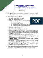Appendix 9B - Instructions - RAOD MOOE