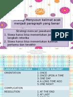 Strategi Menyusun Kalimat Acak Menjadi Paragraph Yang Benar(1)