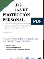 Prendas de proteccion personal