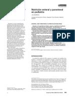 Moreno JM. Nutrición Enteral y Parenteral en Pediatría
