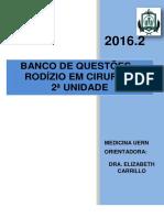 Banco de Questões 2º Prova 2016.2