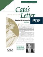 Bipartisan Big Government in Washington, Cato Cato's Letter