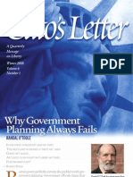 Why Government Planning Always Fails, Cato Cato's Letter