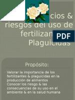 Beneficios & Riesgos Del Uso de Fertilizantes &