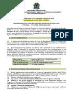 Edital PRE No 44-2015_Selecao Bolsista_PET Eng. Eletrica_2015 -Retificado
