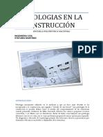 Patologias en La Construcción