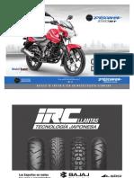 Manual de Despiece Para Mecanicos Moto Bajaj Discover 150 ST