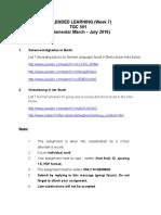 Blended Learning TGC501 Week 7[1]