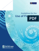 Guidelines for the Use of Fluoride Nov09