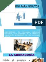 Psicologia Educativa 11 - Andragogía