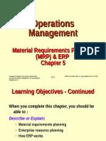 Chapter 5 Mrp Erp