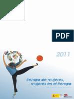 Calendario Mujeres 2011