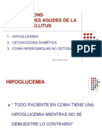 Clases DM Complicaciones Agudas 2010 diabetis