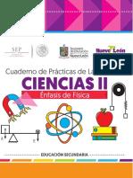 Cuaderno de Prácticas de Laboratorio Ciencias II 2016