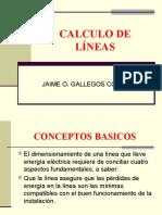 Calculo de Líneas