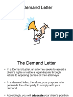 Demand Letter_class Sample
