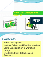 Robot Cell Layouts and Interlocks